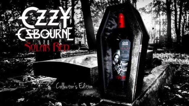 Ozzy Osbournes Wein