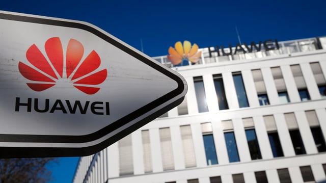 Huawei auch in der Schweiz aktiv