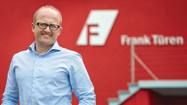 Marcel Frank, Geschäftsführer Frank Türen
