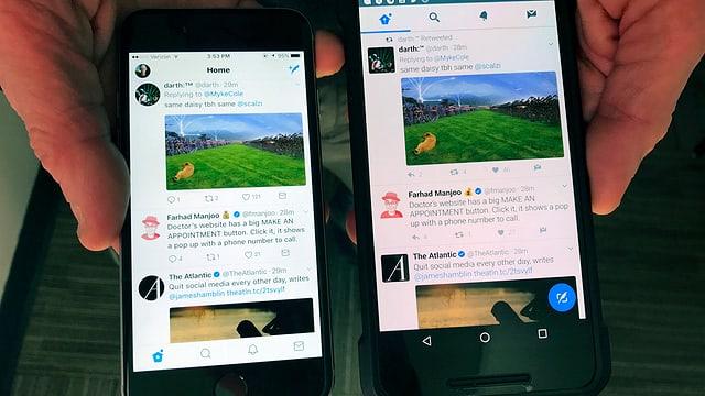 Neues Twitter-Design