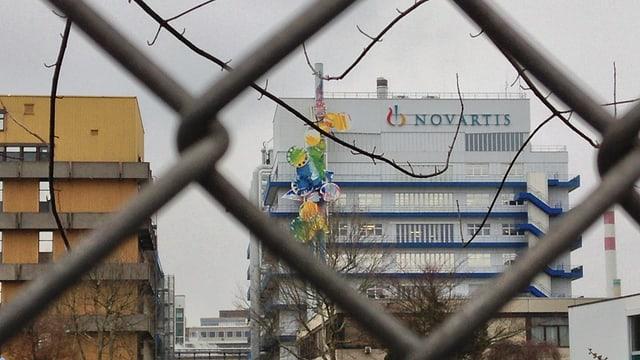 Novartis Werk Schweizerhalle