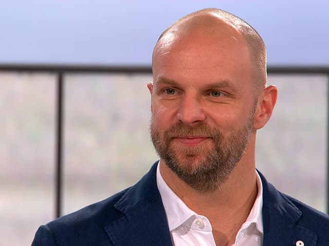 SRF-Eishockey-Experte Marc Reichert.