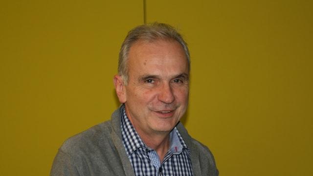 Aurelio Casanova, il president communal da Glion.