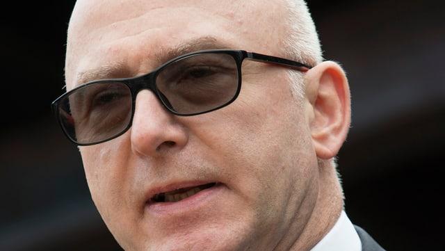 Blaise Matthey, Direktor des Arbeitgeberverbandes in der Romandie