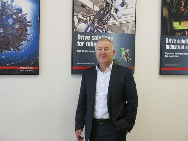 Eugen Elmiger, CEO von Maxon Motors mit Hauptsitz in Sachseln im Kanton Obwalden.