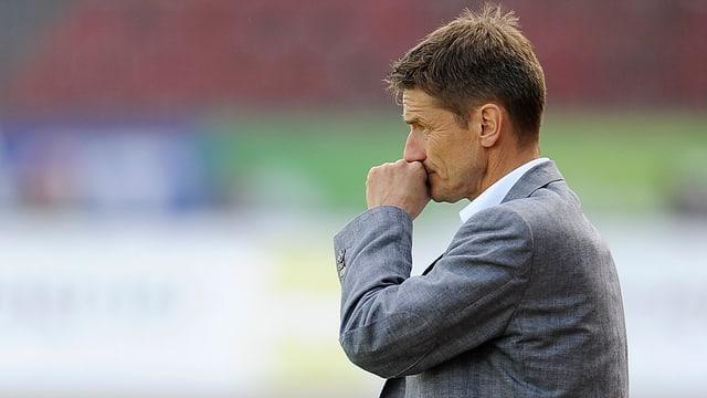 Urs Meier steht vor seinen ersten Europacup-Spielen als FCZ-Cheftrainer.