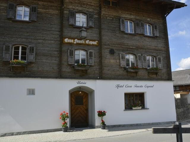 L'ustaria «Casa Fausta Capaul» a Breil.