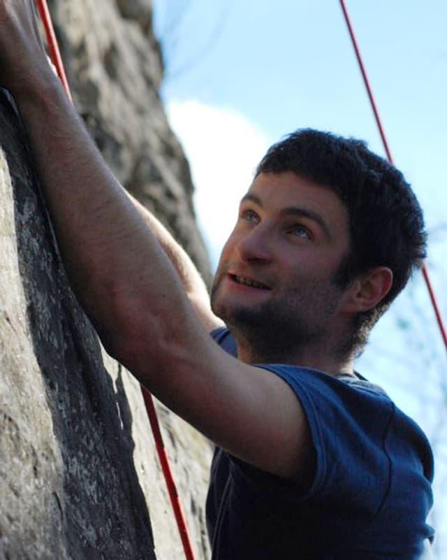 Klettern ist nur eines von Michaels Hobbies.