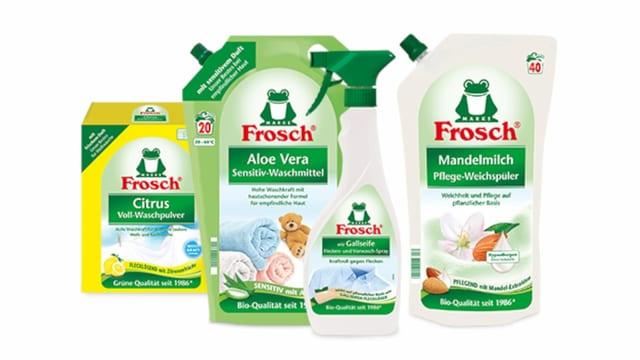 Putzmittel Frosch