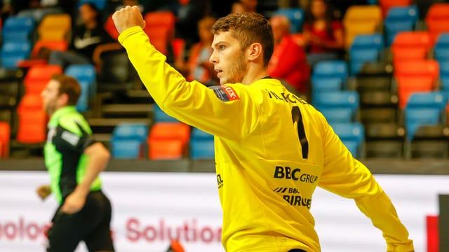 Kadetten-Torhüter Kristian Pilipovic