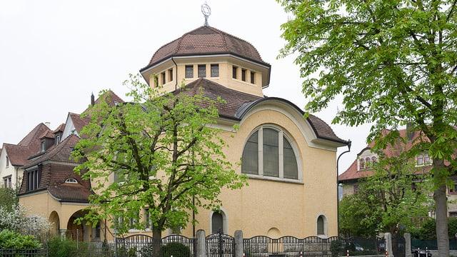 Die Synagoge in Baden.