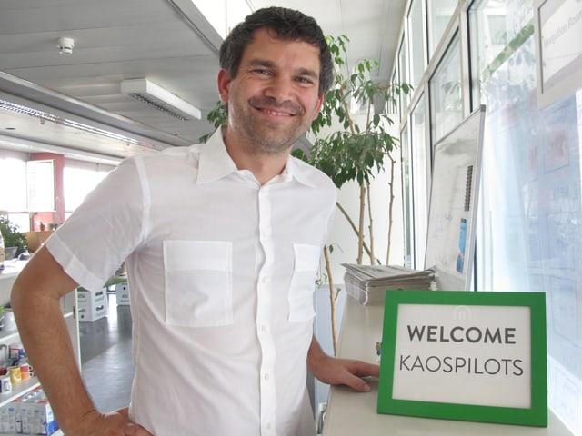 Schulleiter Matti Straub: Willkommen bei den Kaospiloten