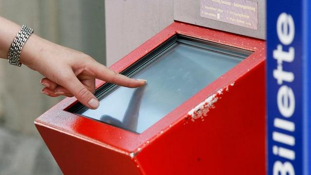 Automat da bigliets