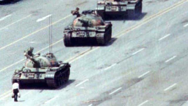 «Tank Man»