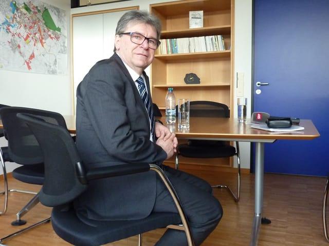 Lothar Ziörjen (BDP) Stadtpräsident von Dübendorf.