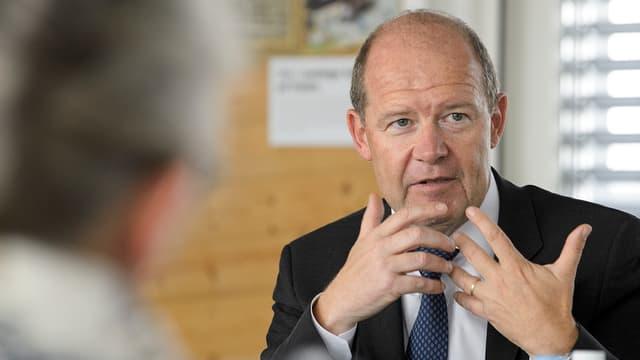 Arbeitgeberpräsident Valentin Vogt.