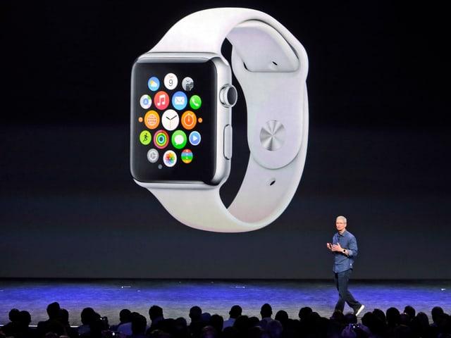 Der Home-Screen der Apple Watch