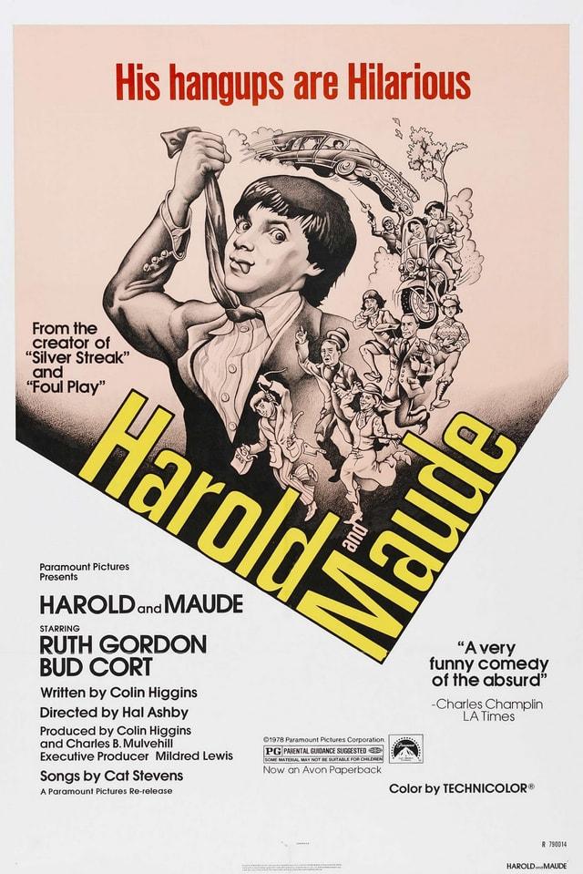 «Harold and Maude»: Filmplakat aus den 70er Jahren.