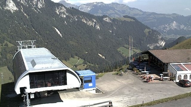 Wiriehorn-Bergstation und Berghaus Nüegg.