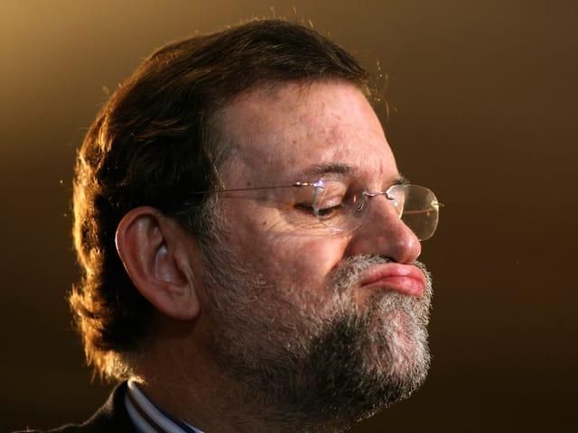 Rajoy in einer Archivaufnahme.