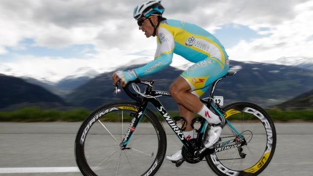 Roman Kreuziger im Trikot der Astana-Mannschaft.