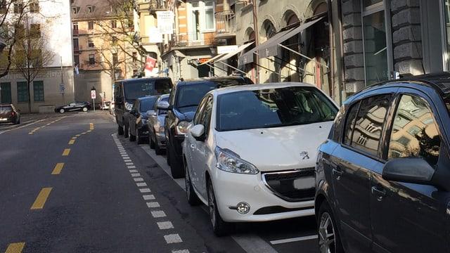 Parkplätze in der Stadt Luzern