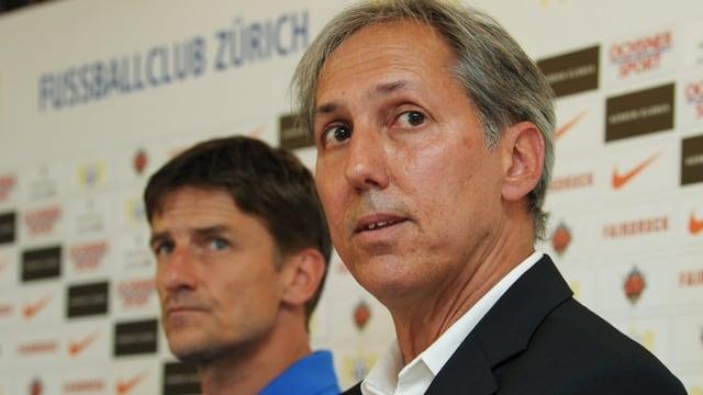 Urs Meier und Marco Bernet