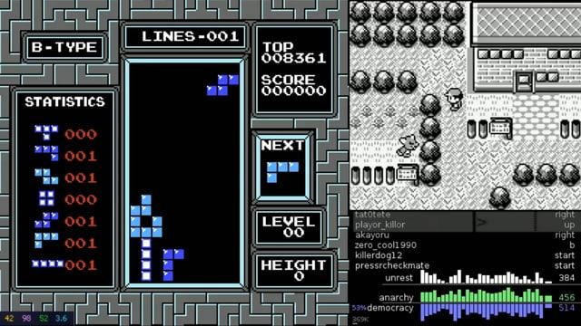 Die farbigen Klötzchen von Tetris, gesteuert von Zehntausenden.