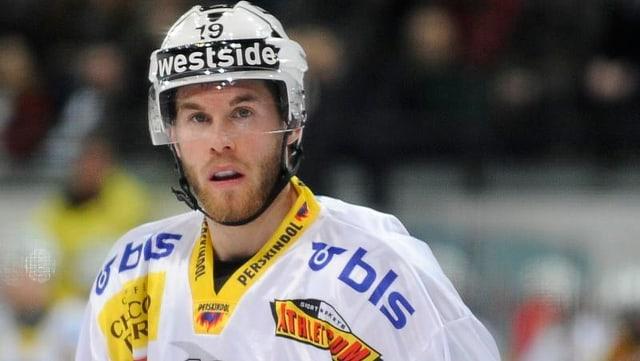 Geoff Kinrade will mit dem SC Bern den Meistertitel holen.