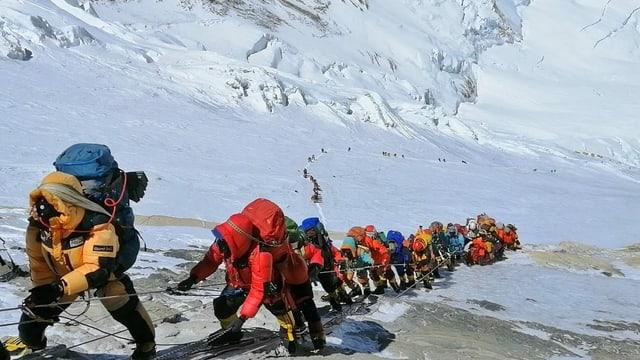Rekordandrang am Mount Everest trotz Corona