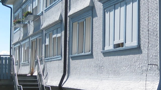 Fassade des Heims