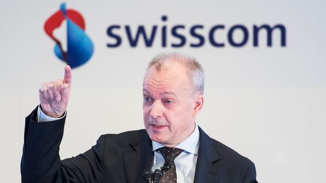 Swisscom-CEO Urs Schaepp