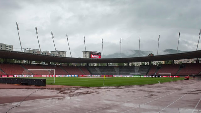 Il stadion dal Letzigrund procura per lavur per ils derschaders a Losanna.