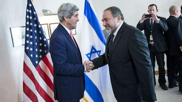 Lieberman und Kerry