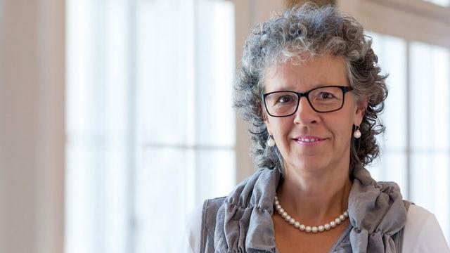 Simone Curau-Aepli, neue Präsidentin des Katholischen Frauenbundes SKF.