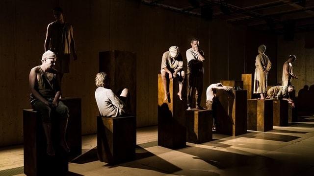 Schauspielensemble des Luzerner Theaters.