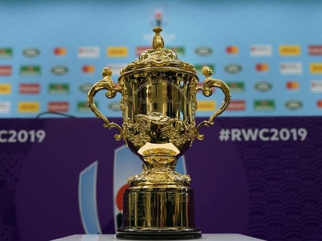 Der Webb Ellis Cup.