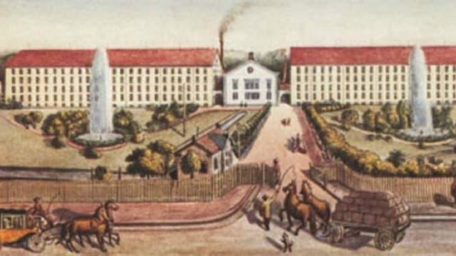 Historische Zeichnung