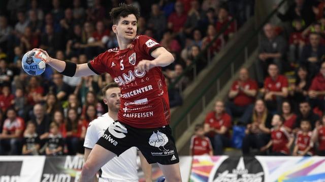 Der HSC Suhr Aarau will gegen die Spitzenspieler aus Mannheim alles geben.