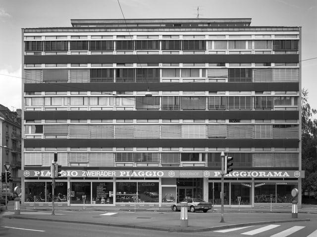 Fassade eines 5-stöckigen Bürogebäudes