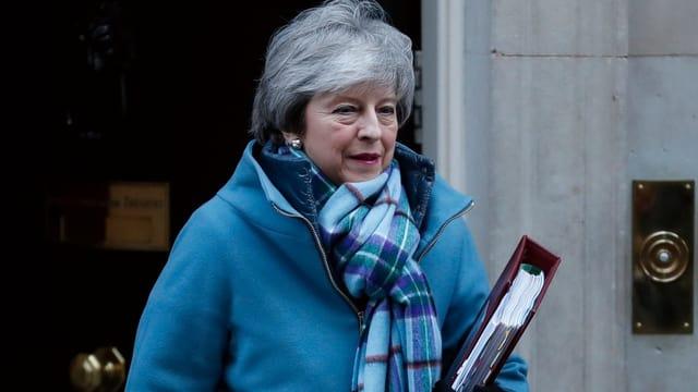 Fotografia da la primministra da la Gronda Britannia Theresa May