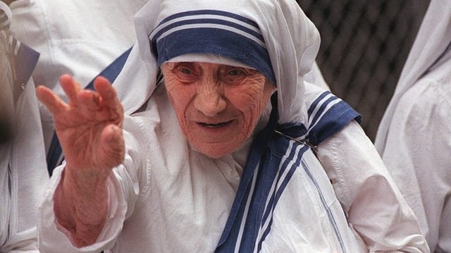 Mamma Teresa en portrait.
