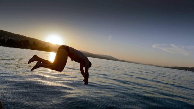 Sommer am Zürichsee: Das Wetterjahr 2012 war besser als sein Ruf.
