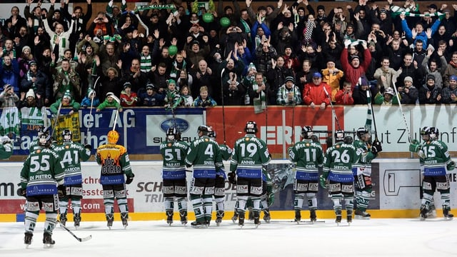 Der EHC Olten zog in den diesjährigen Playoffs über 5000 Fans im Schnitt an.