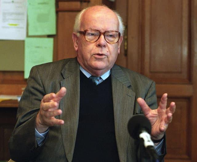 Hans Walder war Bundesanwalt von 1968 bis 1974. Er verstarb 2005.