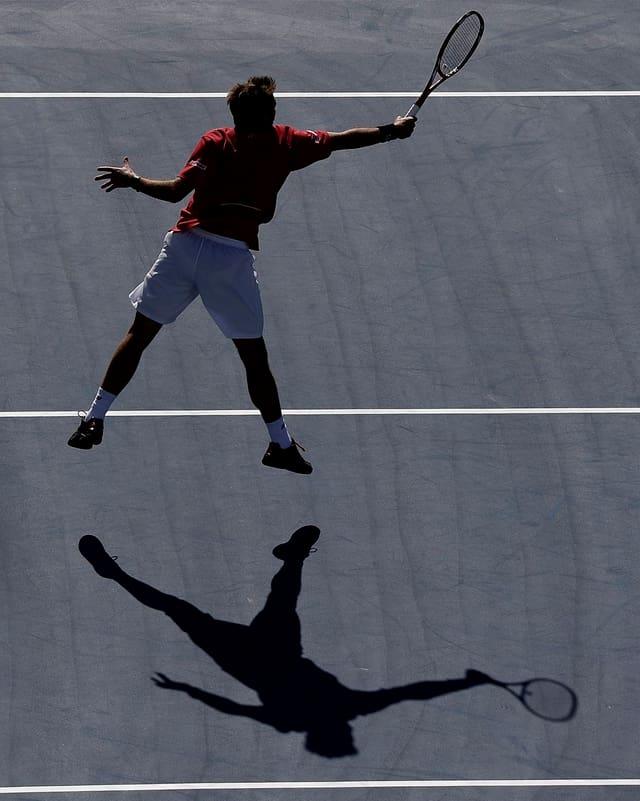 Stanislas Wawinka spielt sich an den US Open definitiv ins Rampenlicht.