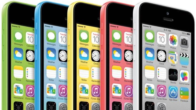 iPhone 5c und 5s