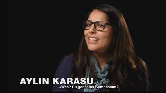 Die junge Türkin Aylin Karasu.