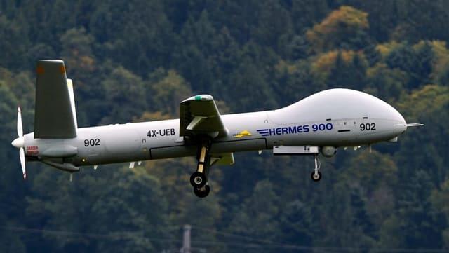 Drona dal tip Hermes 900.