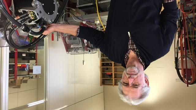 Josef Brusa und seine Brusa AG in Sennwald gilt als der Wegbereiter des E-Autos.